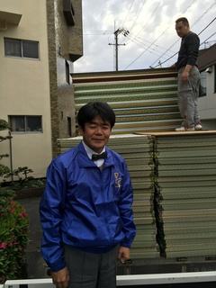 私の作った畳が益城町避難所に届きました.jpg